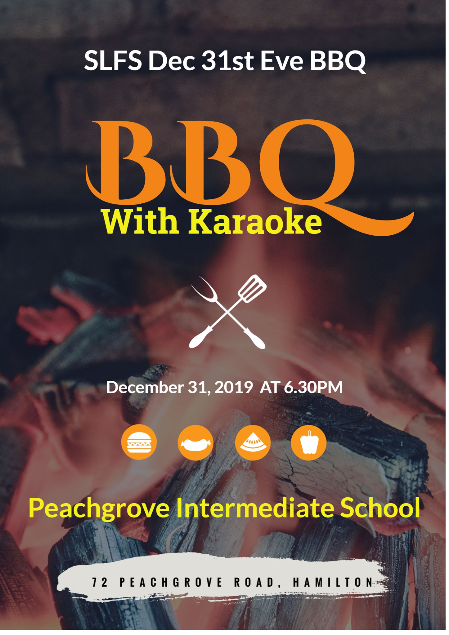 31st Eve With BBQ & Karaoke